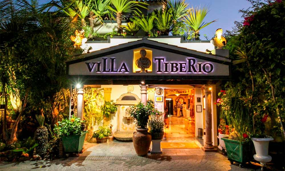 Villa Tiberio Restaurant Marbella