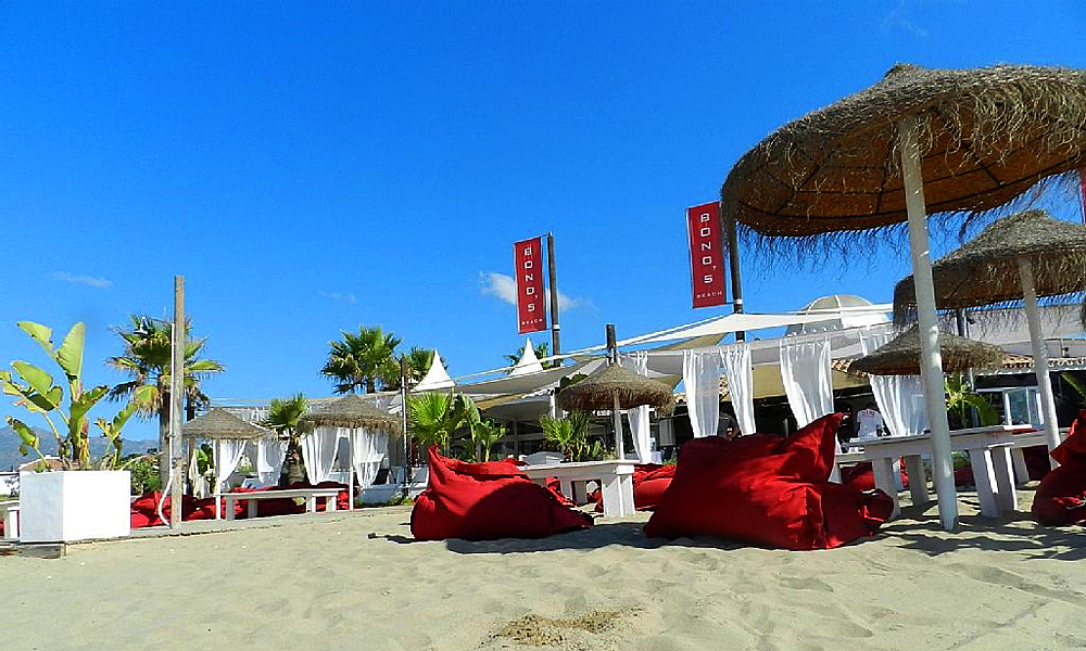 beach clubs in Marbella - Bono Beach Marbella