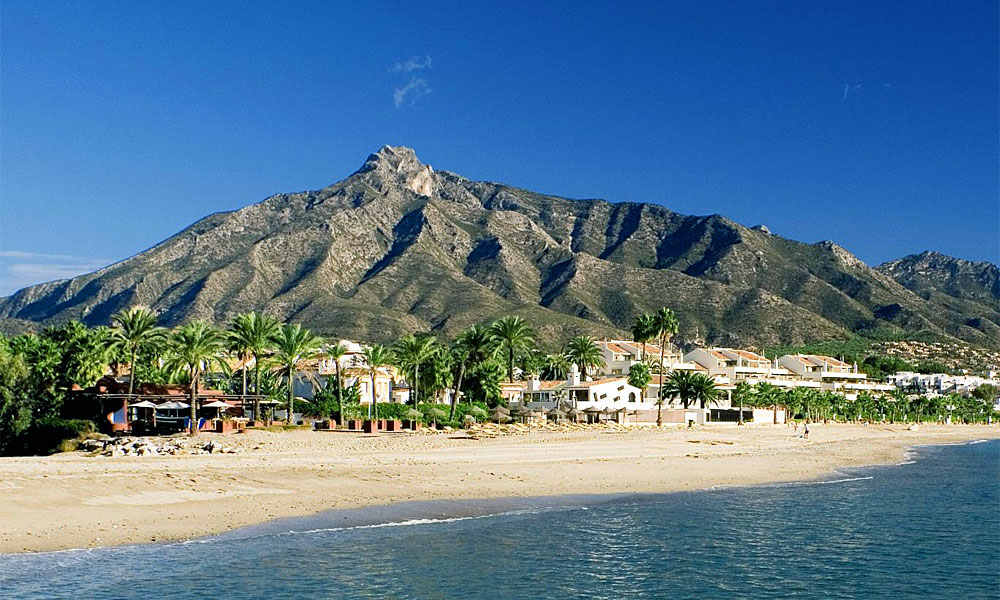 Marbella getaway - Beaches in Marbella - Ancon Beach