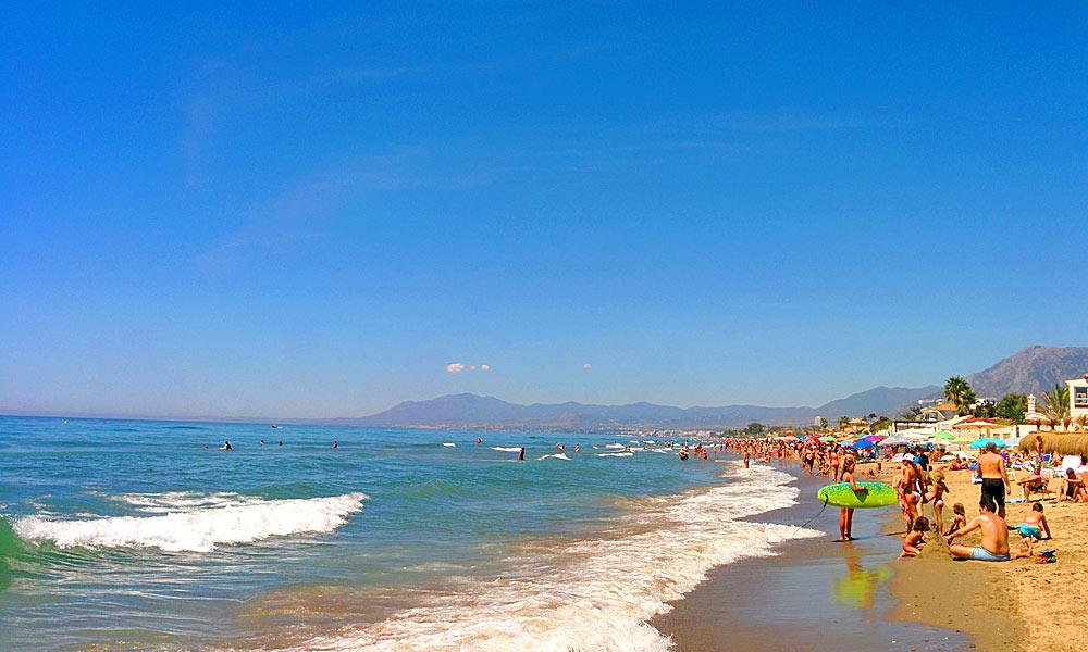 Strand von los Monteros