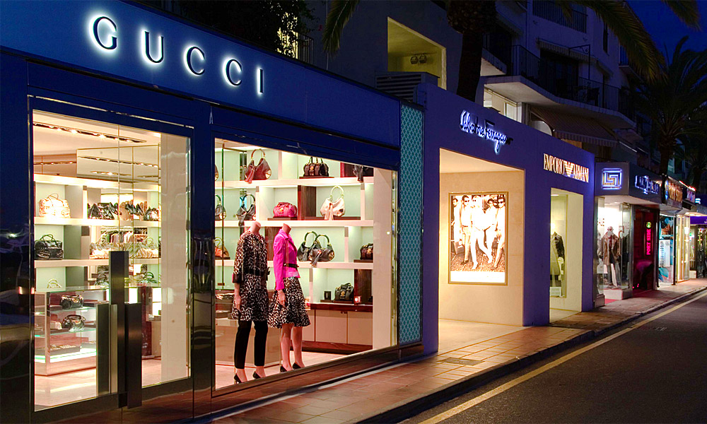 Marbella adult holiday destination - Shopping