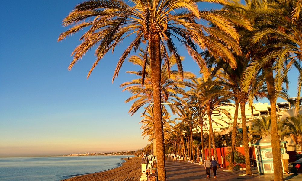 things to see and do in Marbella - Take a walk on the seafront promenade
