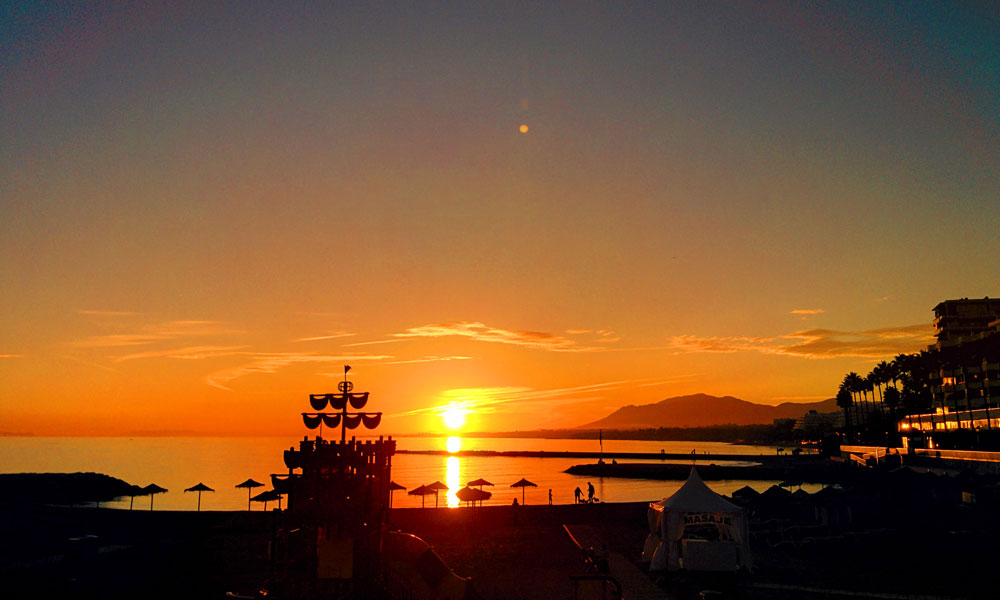 30 things to do in Marbella - Round off the afternoon watching a romantic sunset