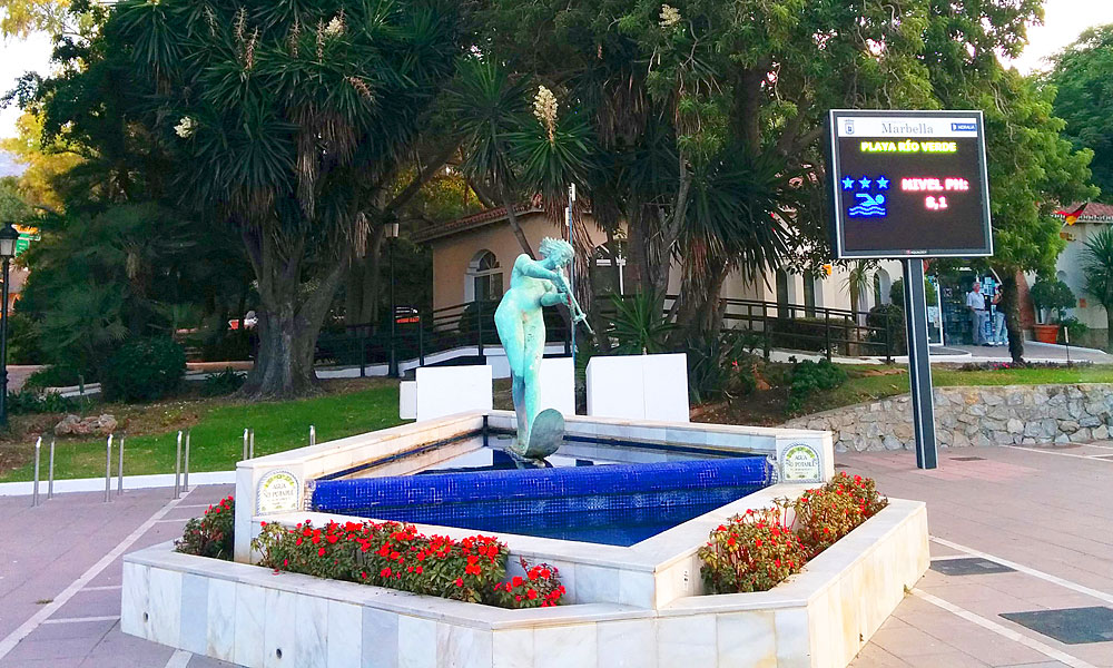 things to see and do in Marbella - Find one of the symbols of Marbella: Venus
