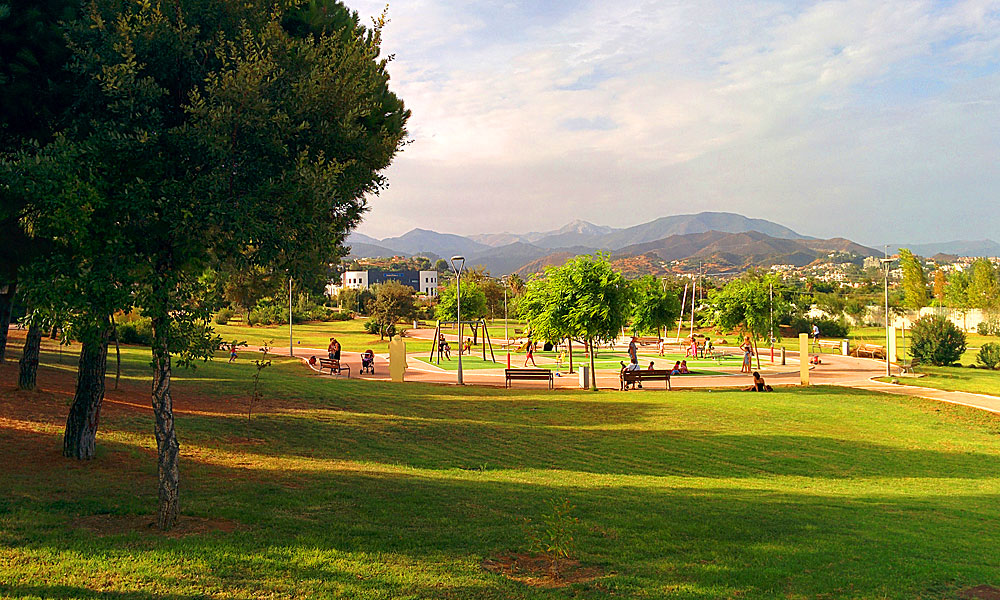 things to see and do in Marbella - Visit the 3 Gardens park in San Pedro de Alcántara