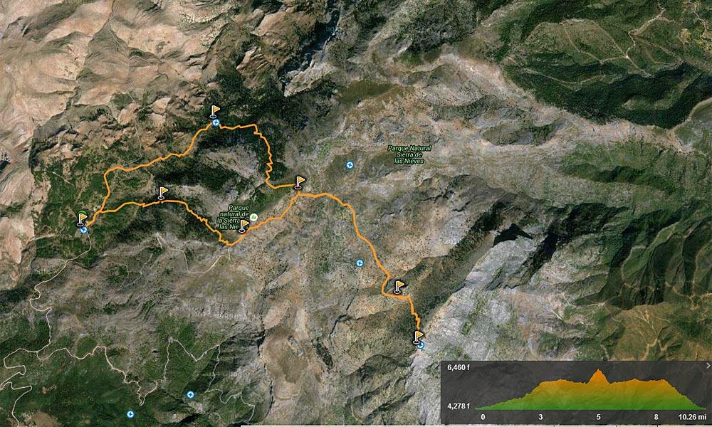 Ascending El Torrecilla - Marbella Hiking Routes