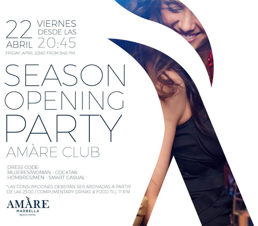 Amare Hotel Season Opening Party