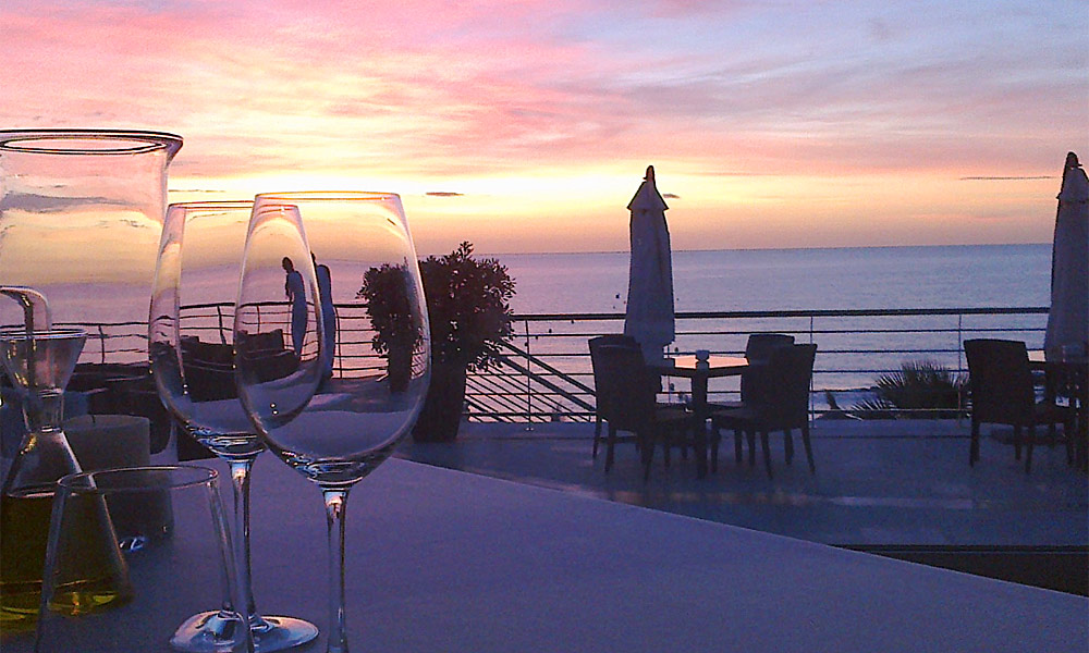 Restaurants with a view Costa del Sol - Avanto Restaurant