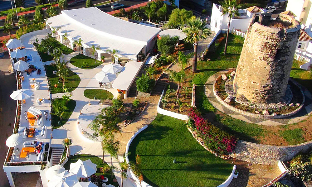 Restaurantes con vistas en Málaga - restaurante Blankko