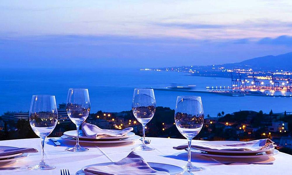 Restaurantes con vistas en Málaga - Refectorium El Campanario