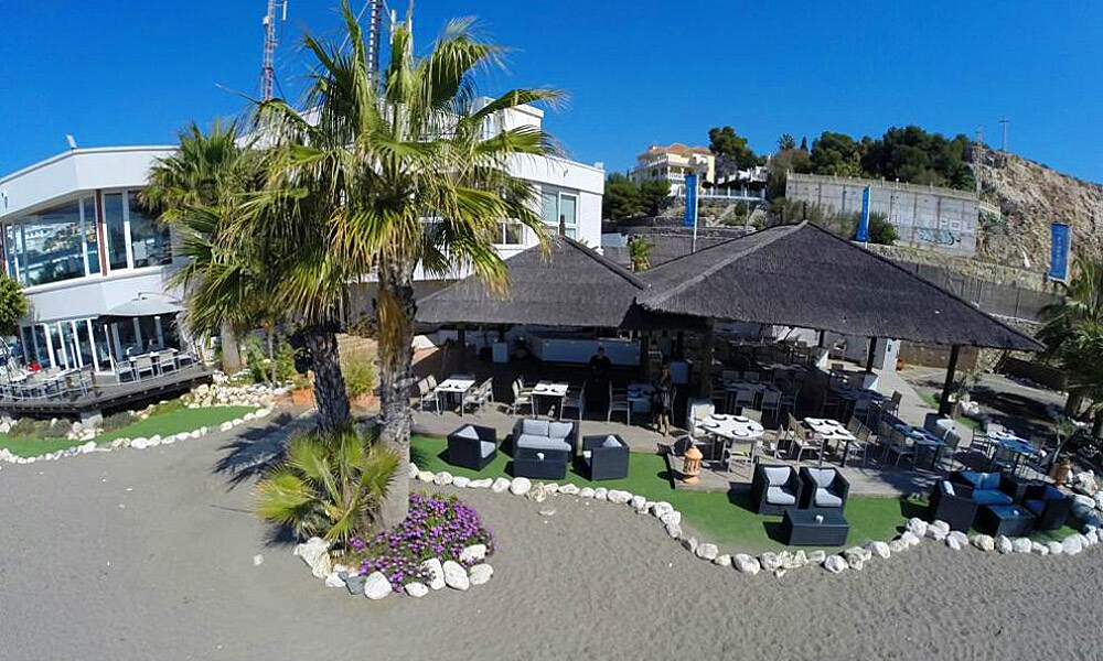 Restaurants avec vue Costa del Sol - Restaurant Candado beach