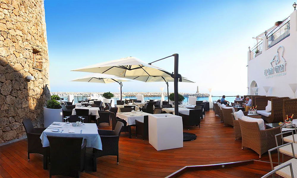 Restaurants with a view Costa del Sol - El Gran Gatsby Restaurant