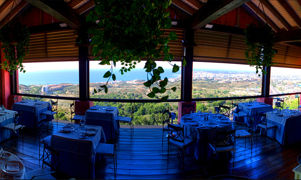 Restaurantes con vistas en Málaga - Restaurante el Higuerón