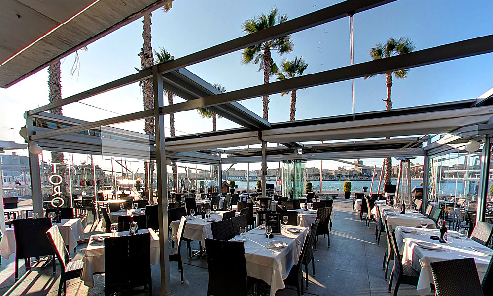 Restaurants with a view Costa del Sol - Toro Muelle Uno Restaurant