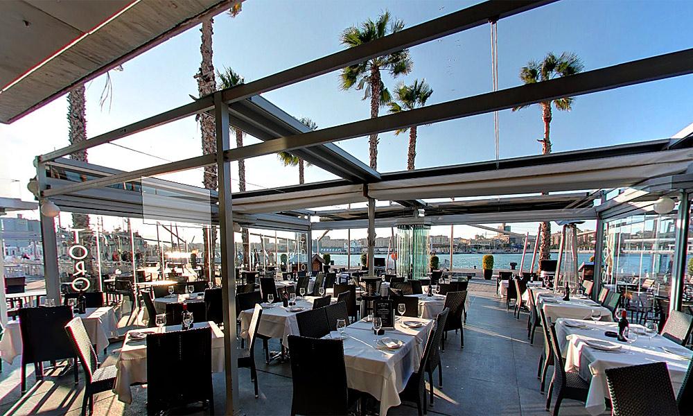 Restaurantes con vistas en Málaga - Restaurante Toro Muelle Uno