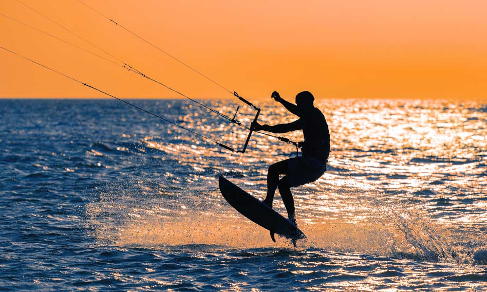 Kitesurfen in Marbella