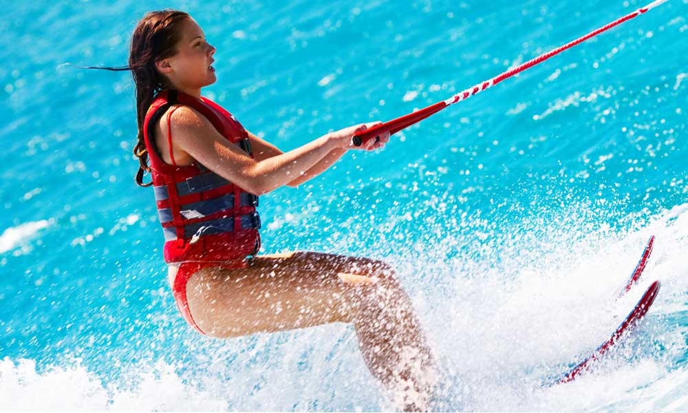 Water Skiing in Marbella