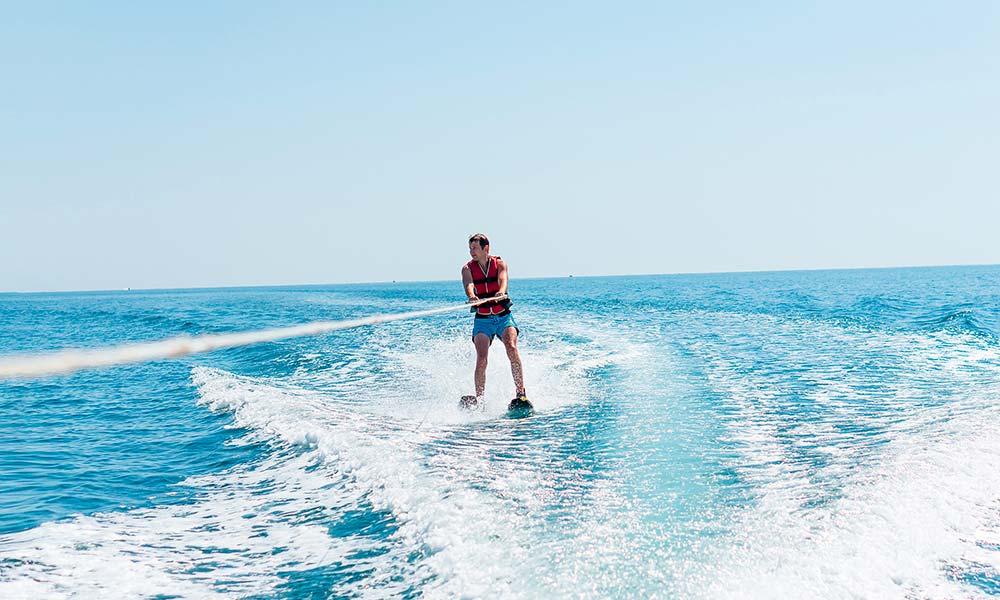 Water skiing Marbella