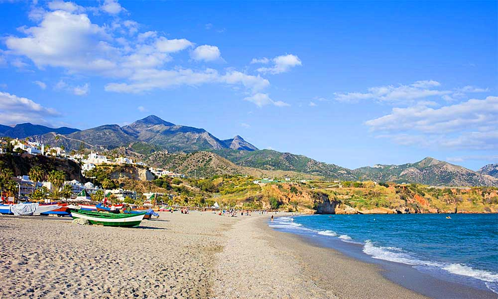 Malaga's 10 best blue flag beaches - Burriana Beach