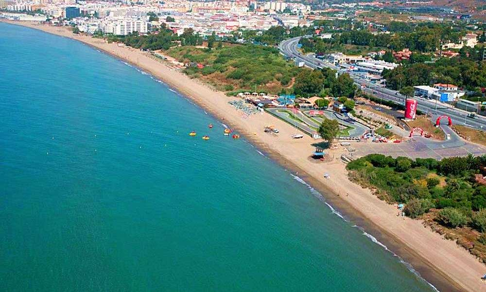 Malaga's 10 best blue flag beaches - El Pinillo Beach