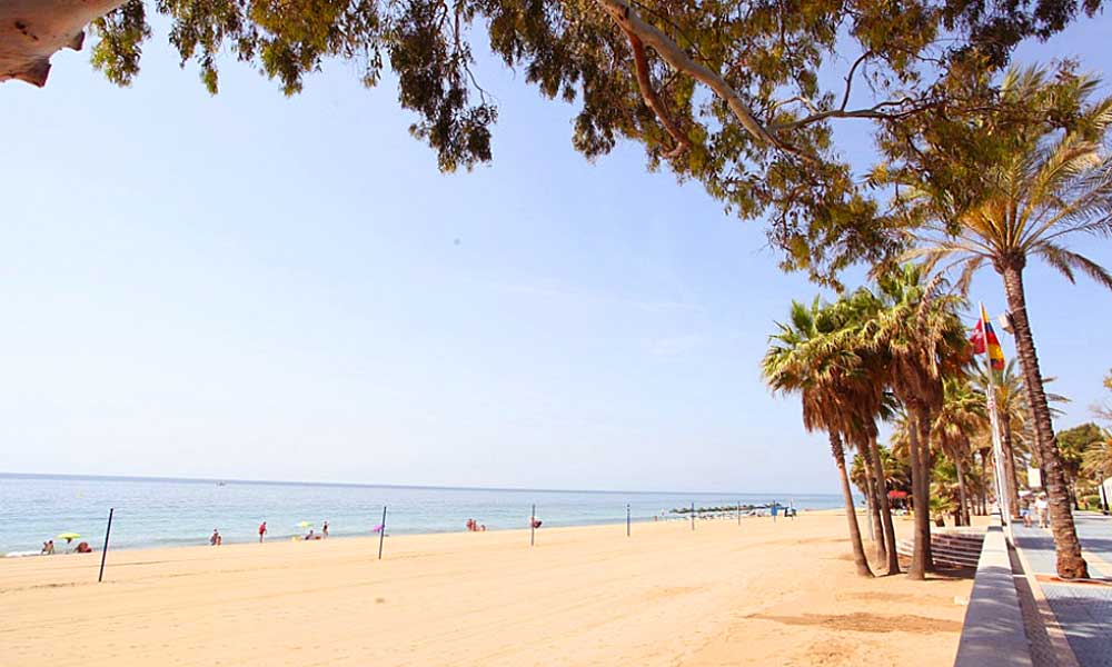 Malaga's 10 best blue flag beaches - San Pedro Beach