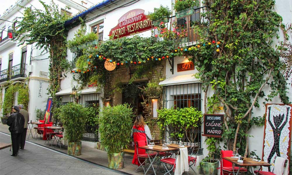 Casanis Restaurant Marbella