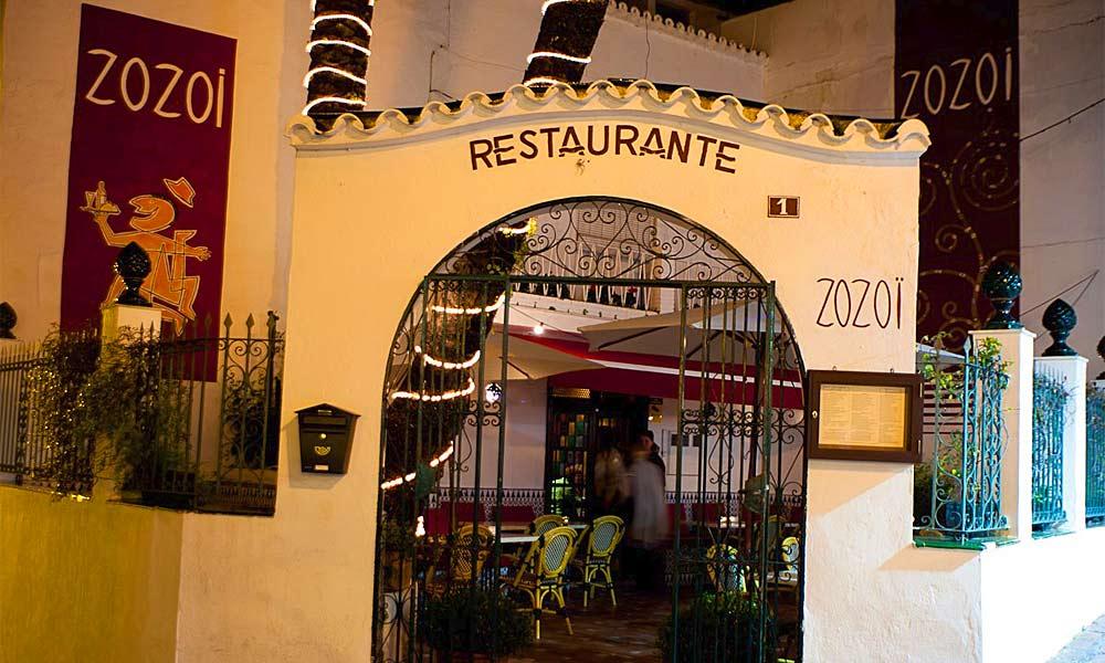Zozoi Restaurant Marbella