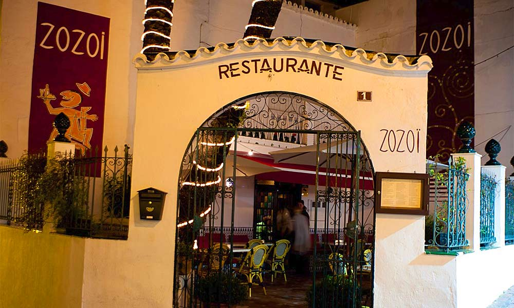 Marbella Altstadt Restaurants - Zozoi Restaurant Marbella