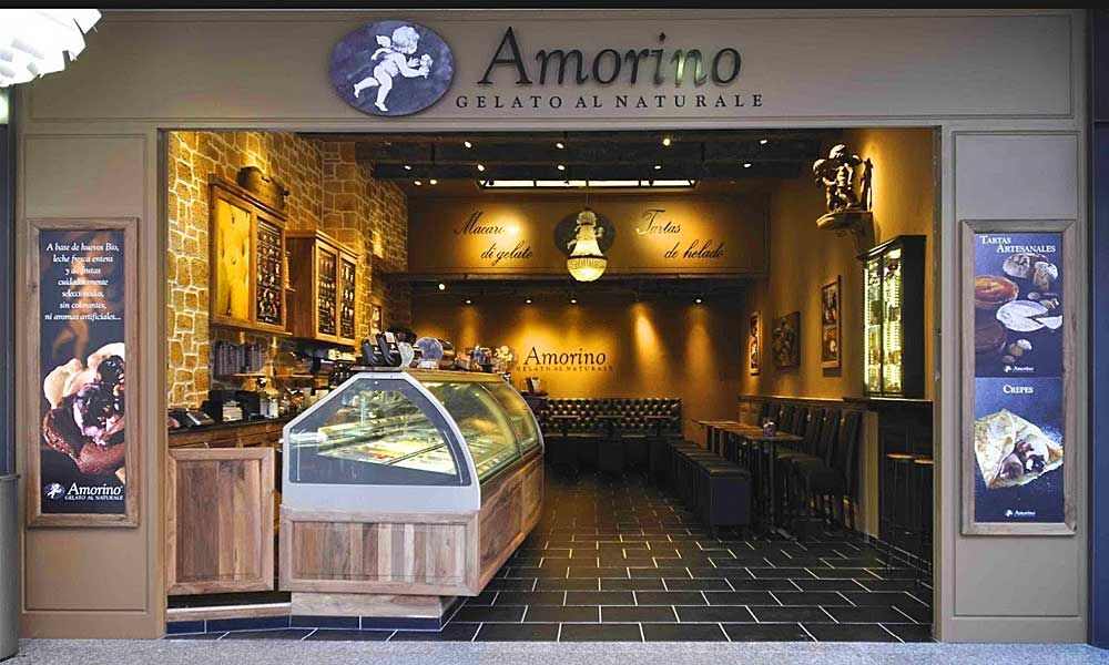 Coffee shops, bakeries and Ice cream parlours in Marbella  - Amorino Marbella