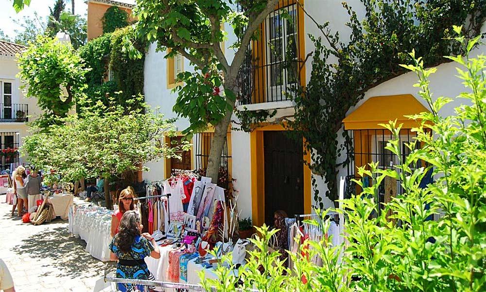 Marbella street markets - El Patio Marbella