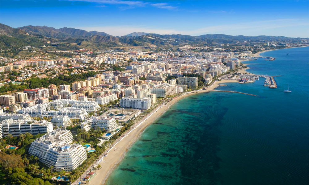 12 reasons to visit Marbella - Marbella Aerial View