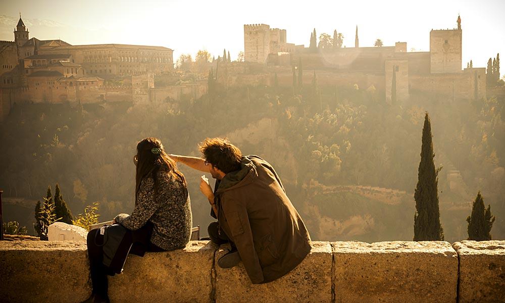 Granada mirador San Nicolas