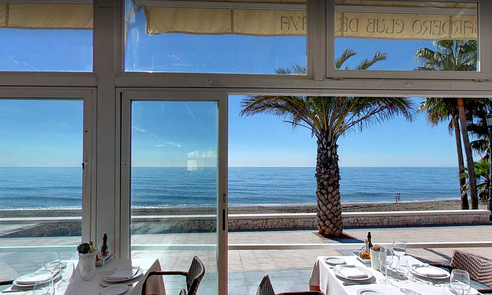 Beach Clubs Marbella - Alabardero Beach Club - Image courtesy of Alabardero Beach Club