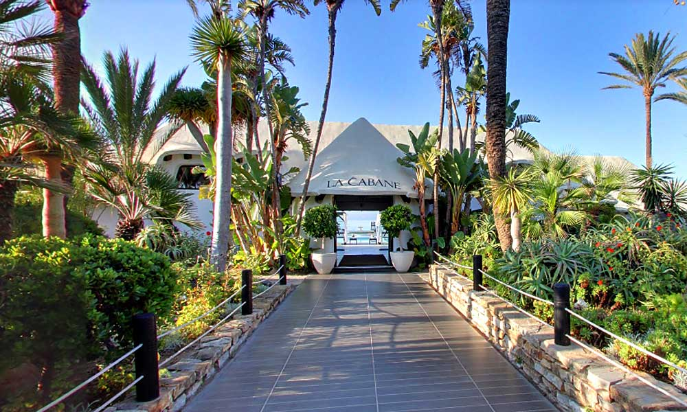Beach Clubs Marbella - la Cabane Beach Club - Image courtesy of La Cabane Beach Club