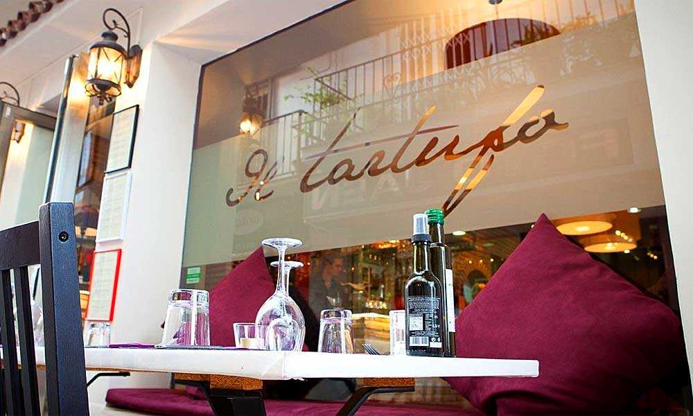 Il Tartufo restaurant Marbella