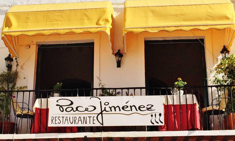 Marbella Altstadt Restaurants - Paco Jiménaz Marbella