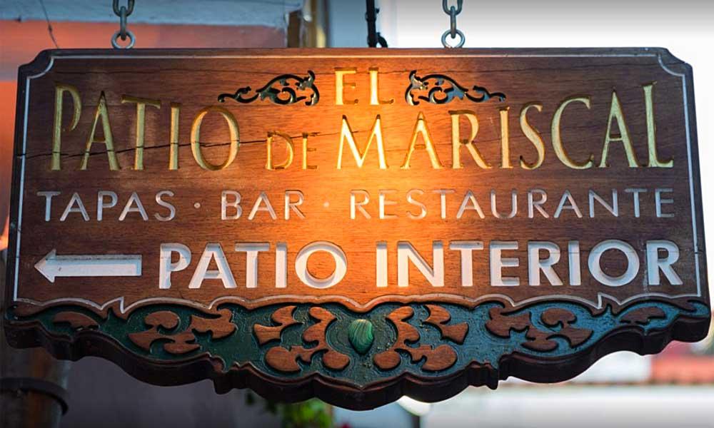 Patio de Mariscal restaurant Marbella