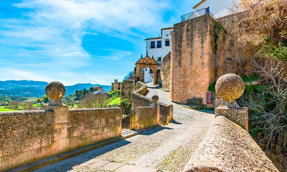 Arco de Felipe V (Arch of Phillip V)