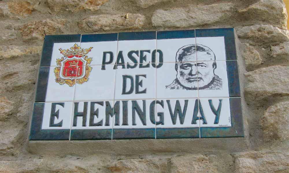 Paseo de Hemingway Ronda
