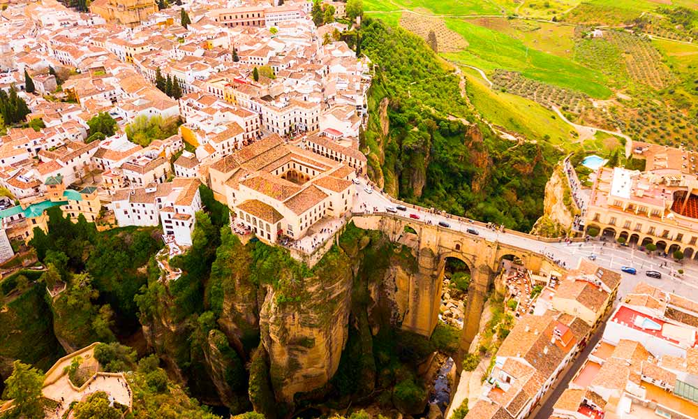 Ronda day trip from Marbella - Ronda aerial view