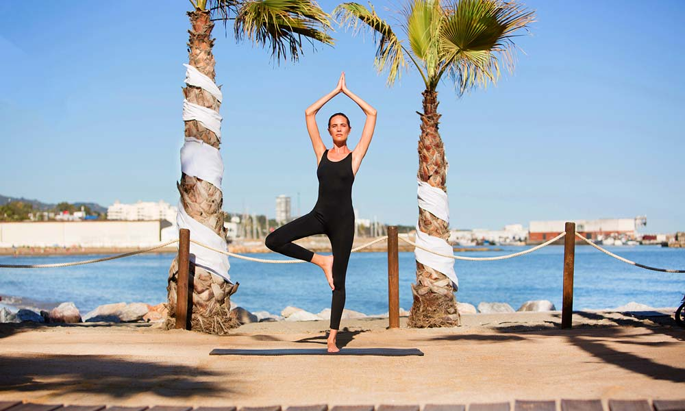 Yoga classes Amare Marbella Beach Hotel
