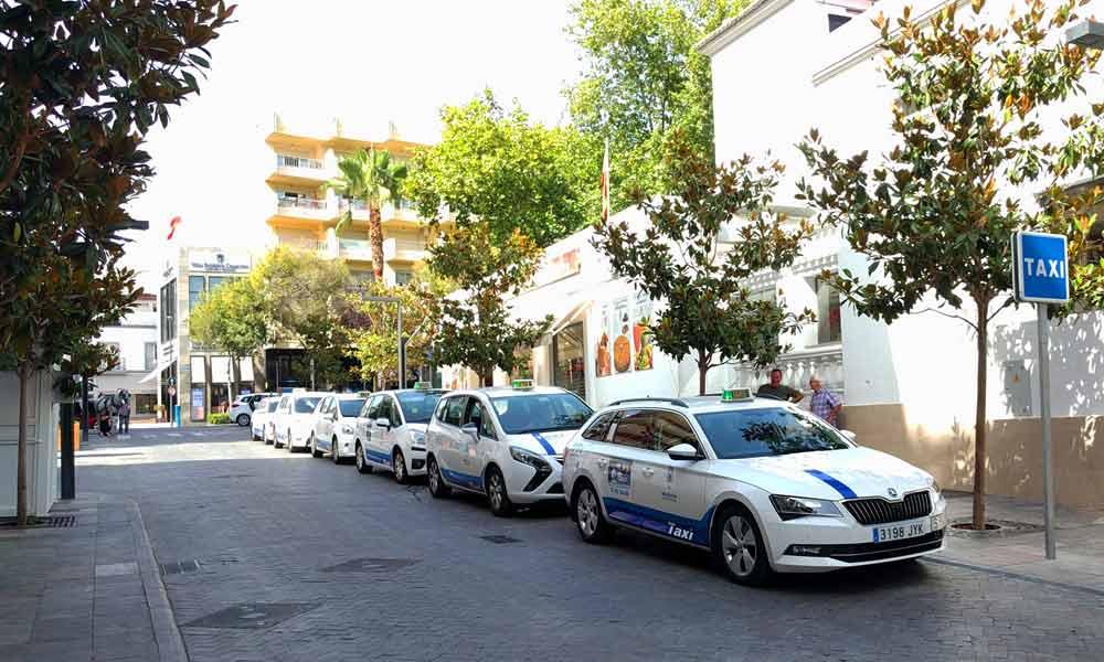 Arrêts de Taxi à Marbella