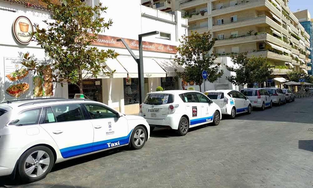 Les compagnies de taxi à Marbella