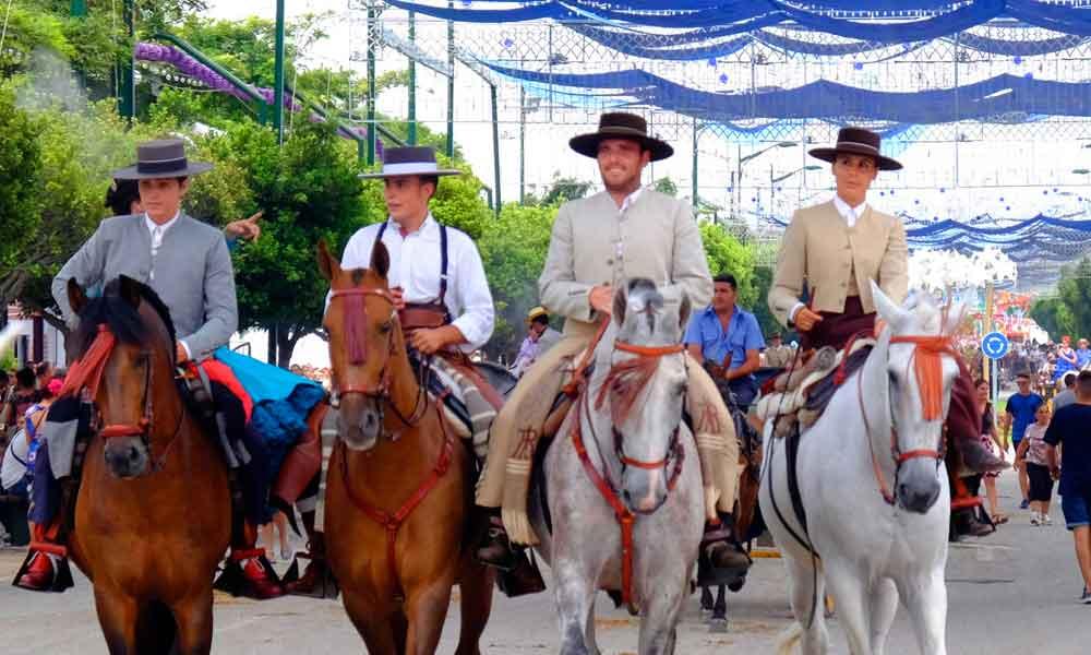 Feria de Málaga - caballos