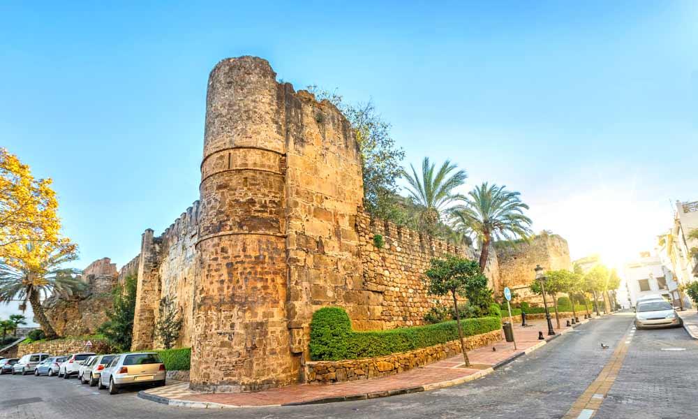 murallas del castillo morisco
