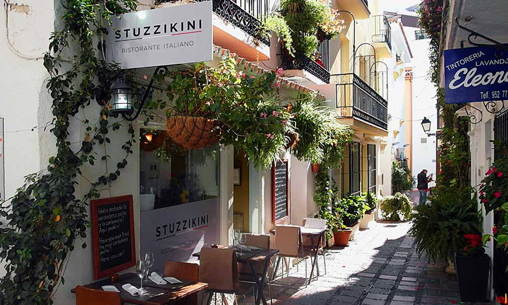 Marbella Altstadt Restaurants - Stuzzikini Restaurant Marbella