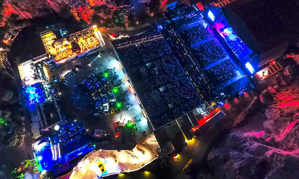Starlite aerial view