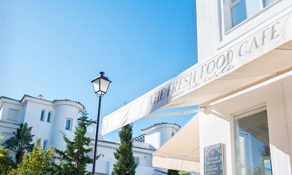 vegetarian restaurant in Marbella - The Fresh Food Cafe - Photo courtesy www.freshfoodcafe.es