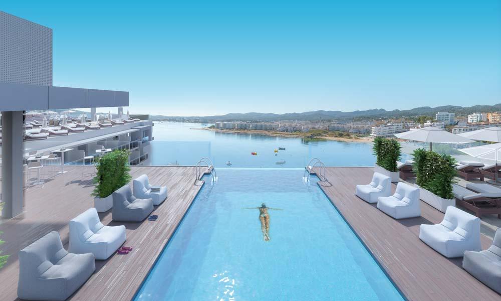 Amare Beach Hotel Ibiza infinity pool