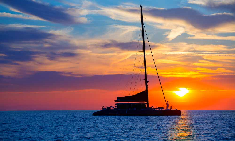things to see and do in San Antonio, Ibiza - bbq on catamaran